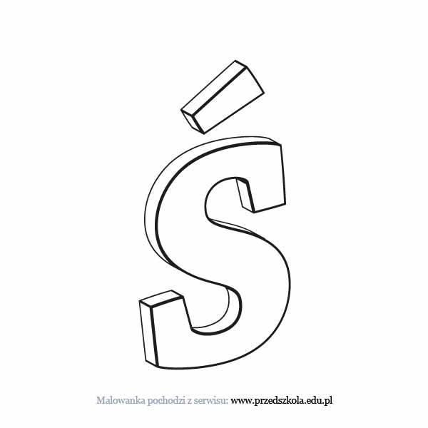 kolorowanka dla dzieci literka d do wydruku