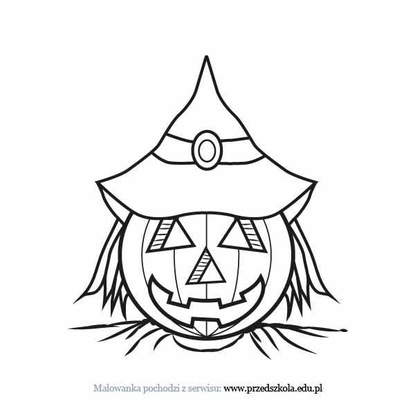 Halloween Kolorowanka Darmowe Kolorowanki I Malowanki Dla Dzieci