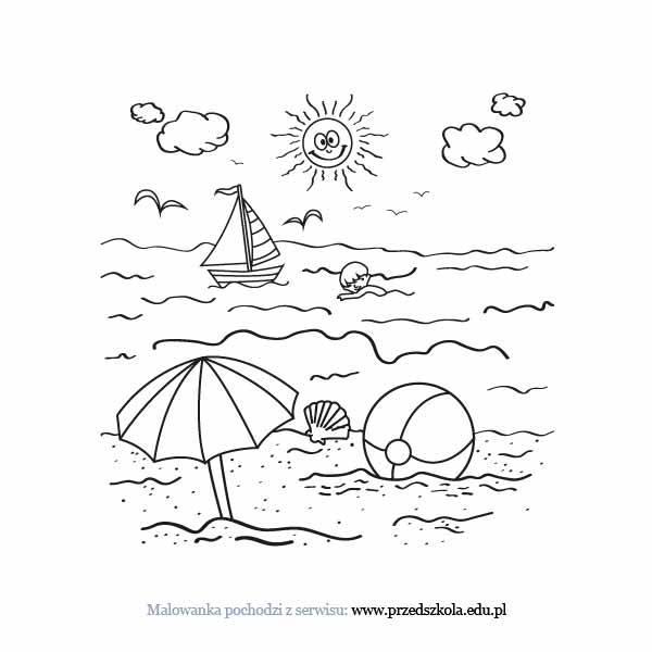 Morze Kolorowanka Darmowe Kolorowanki I Malowanki Dla Dzieci
