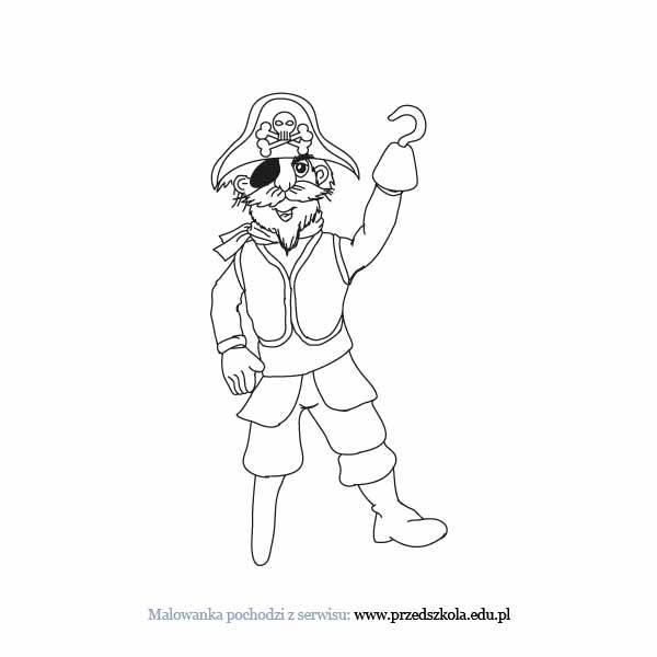 Pirat Kolorowanka Darmowe Kolorowanki I Malowanki Dla Dzieci
