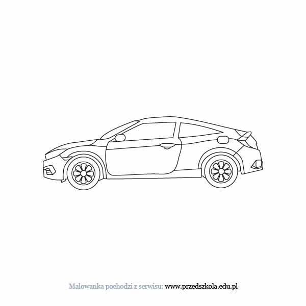 Auto Kolorowanka Darmowe Kolorowanki I Malowanki Dla Dzieci Auto